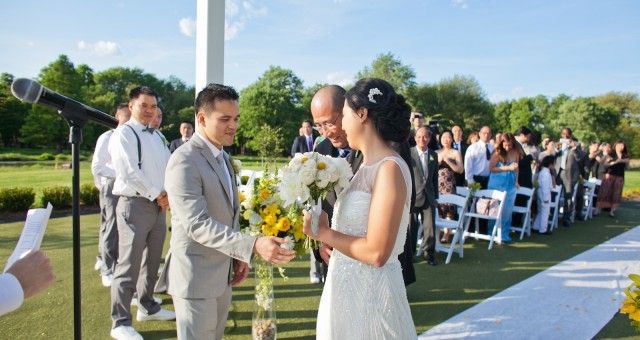 Tu & Trung at Galloping Hill Golf Course